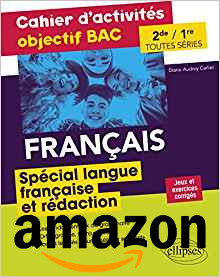 Cahier langue fr amazon